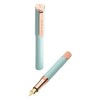 An Aquamarine Fountain Pen - annabeljames