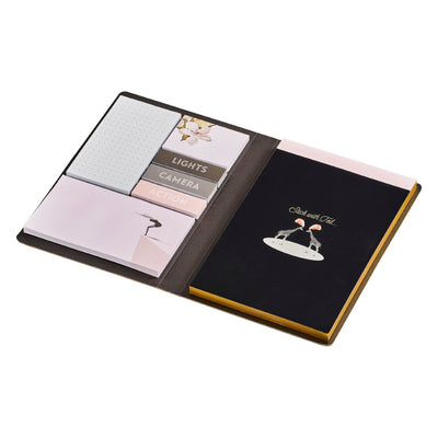 Ted Baker Notebook and Sticky Notes