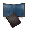 Leather Wallet - Blue Interior