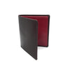 Leather Wallet - Red Interior