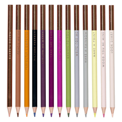 Baker's Dozen Colouring Pencils - annabeljames