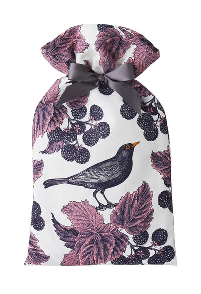 Blackbird and Bramble Hot Water Bottle