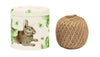Rabbit and Cabbage String Tin