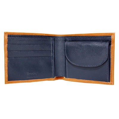 Leather Wallet - Tan - annabeljames
