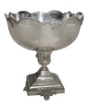 An Antique Silver-Plated Punch Bowl