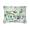 Birds Blush Cushion
