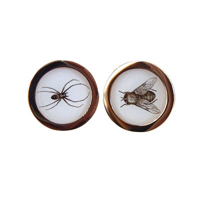 Cufflinks - Spider and Fly - annabeljames