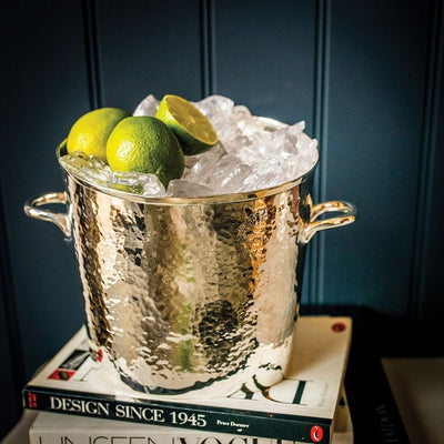 A Silver Plated Wine Cooler / Ice Bucket