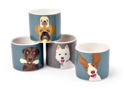 Dog Egg Cups - annabeljames