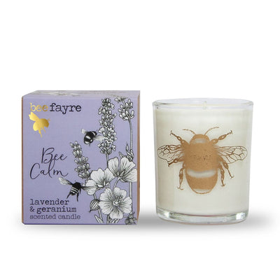 Lavender and Geranium Candle