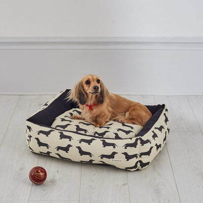Dog Bed - Dachshund - annabeljames
