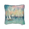 Sailboats at Sunrise Cushion