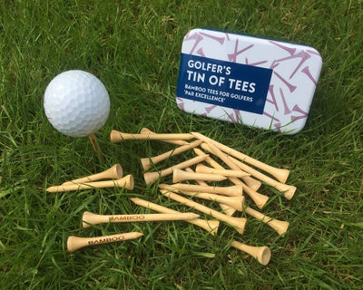 Golfers Tin of Tees