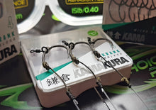 "Load image into Gallery viewer, Korda Kamakura ""Combi Rig"" - IQ2 Flurocarbon with Tungsten loaded Dark Matter Braid"