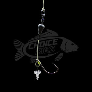 "3x ""3C CHOD RIGS"" with J Precision Hooks"