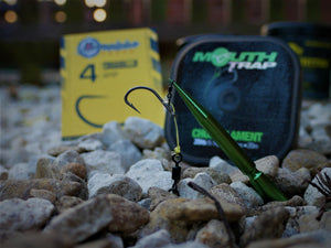"""The Double Chod Rig"" J Precision Chod hooks with Doubled 20lb Korda Mouth Trap."