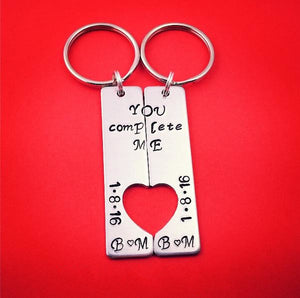 You Complete Me Personalized Keychains