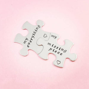 Puzzle Piece Personalized Tokens - My Metal Mojo