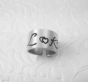 Couples Initial Ring