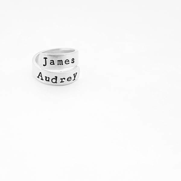 Initials Personalized Ring - My Metal Mojo