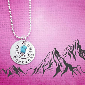 Rock Climb Necklace - My Metal Mojo
