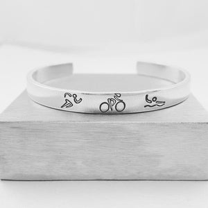 Triathlon Bracelet and Ring - My Metal Mojo