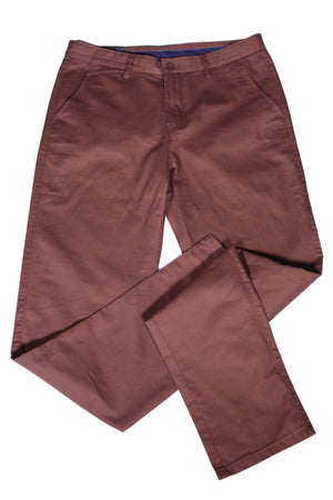 Deep Brown Khaki Pants