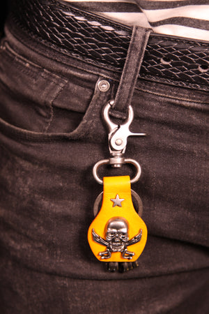 Pirate Head Skull Key Holder