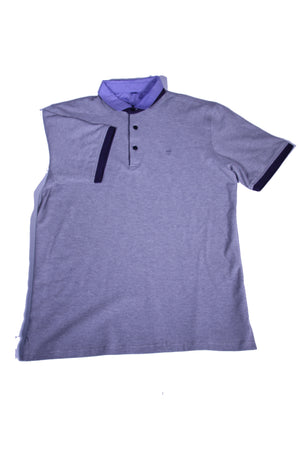 POLO SHIRT WITH CONTRAST COLLAR
