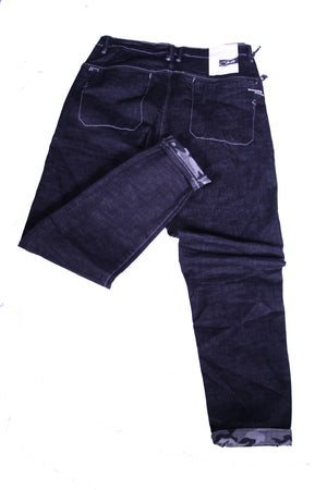 Slim Fit Laced Jeans