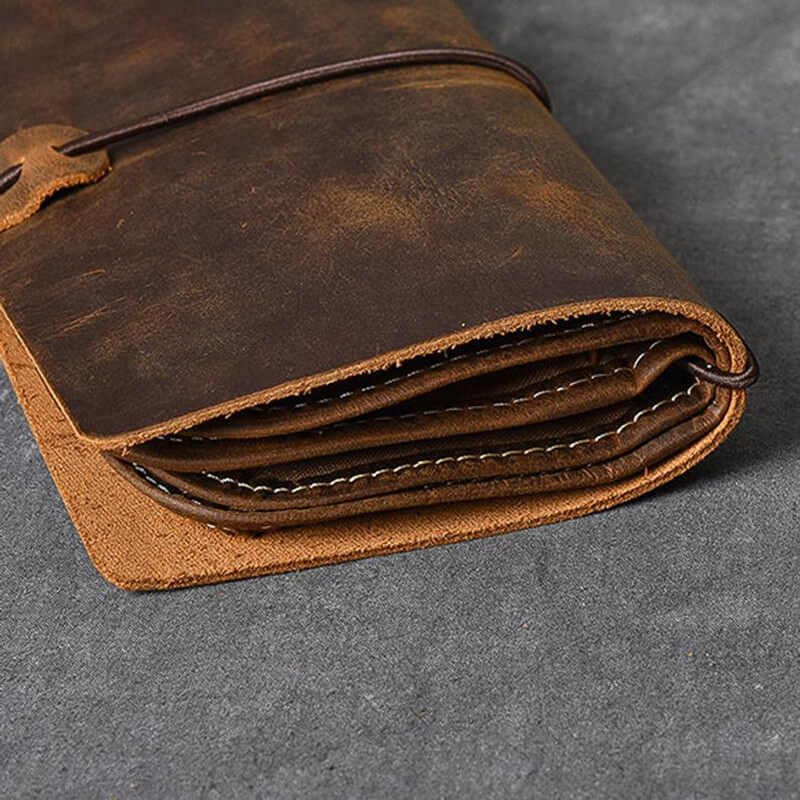 Handmade Leather Travel Wallet