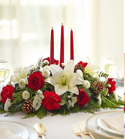 Holiday Bliss centerpiece