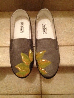 Hand painted shoes 2