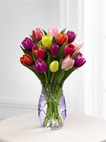 A Tulip Mixed Bouquet