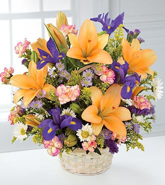Basket of Lillies