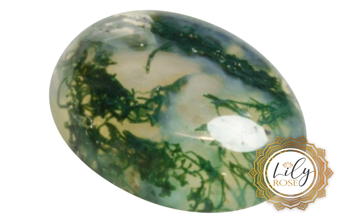 Moss Agate Gemstone Uses & Crystal Healing Properties