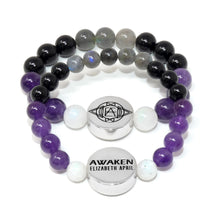 Load image into Gallery viewer, 10mm Elizabeth April AWAKEN Protection & Activation Limited Edition Stretch Bracelet