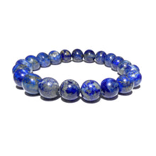 Load image into Gallery viewer, Limited Chilean Lapis Lazuli Enlightenment 10mm Stretch Bracelet