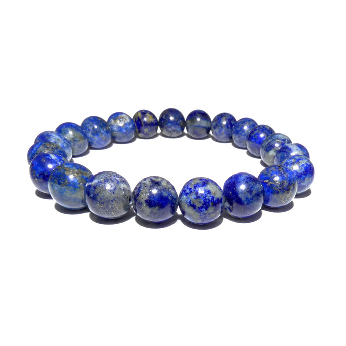 Limited Chilean Lapis Lazuli Enlightenment 10mm Stretch Bracelet
