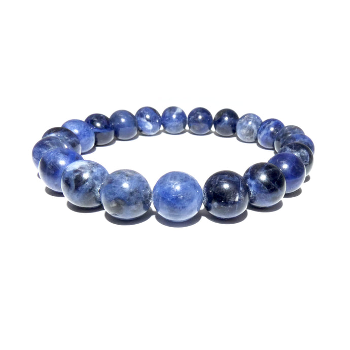 Sodalite Harmony and Truth 10mm Stretch Bracelet