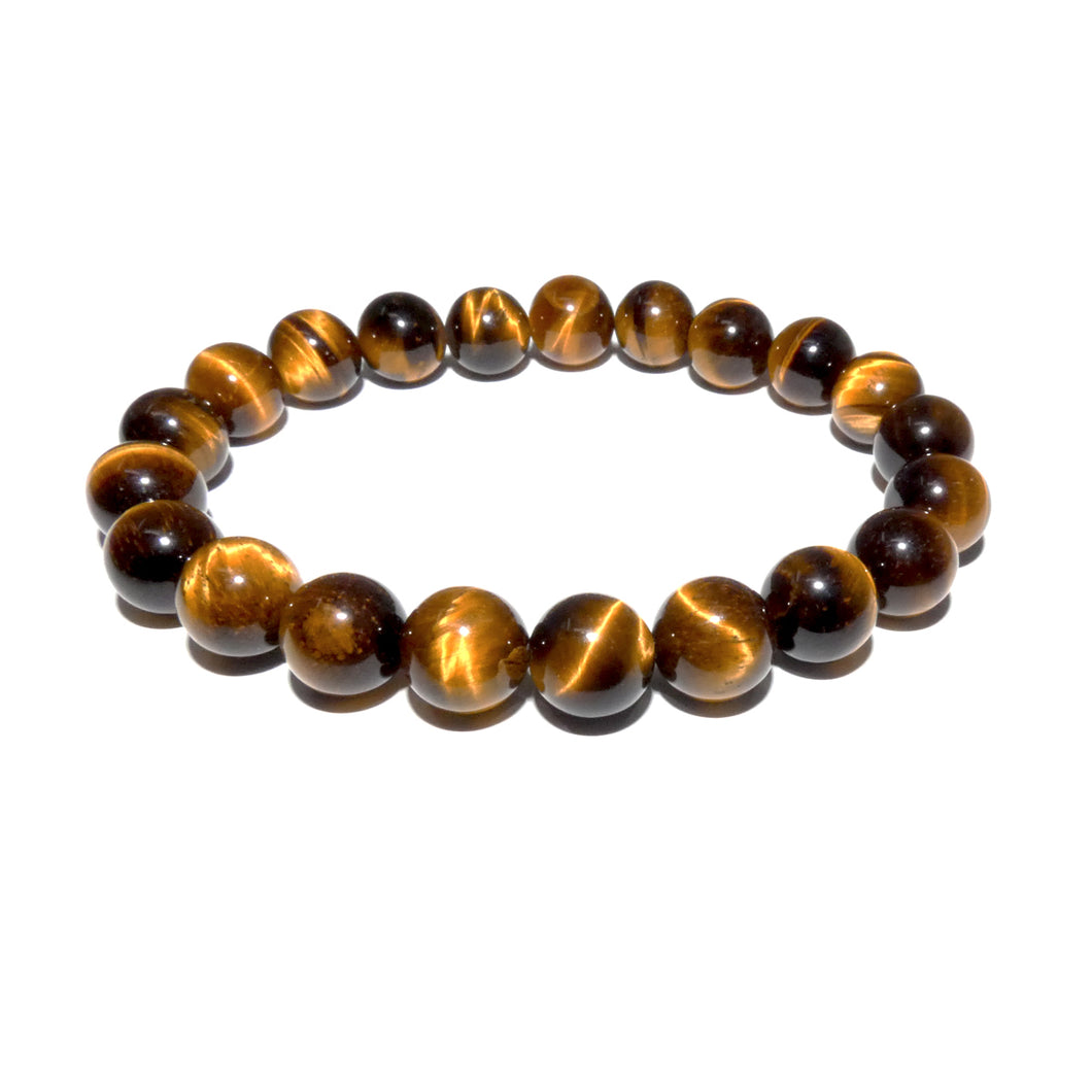 Tigers Eye Willpower 10mm Stretch Bracelet