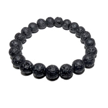 Load image into Gallery viewer, Lava Grounding & Protection 10mm Stretch Bracelet