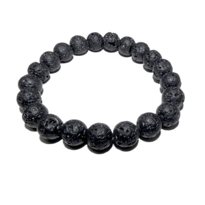 Lava Grounding & Protection 10mm Stretch Bracelet