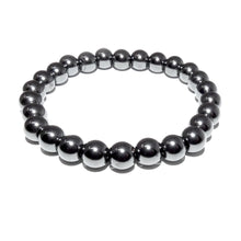 Load image into Gallery viewer, Hematite Inner Power & Manifestation 8mm Stretch Bracelet