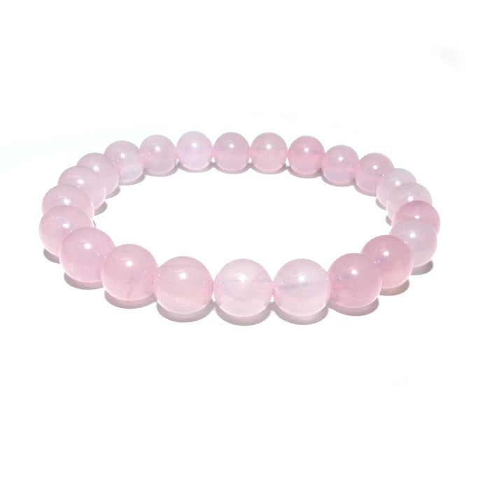 Rose Quartz True Love 8mm Stretch Bracelet