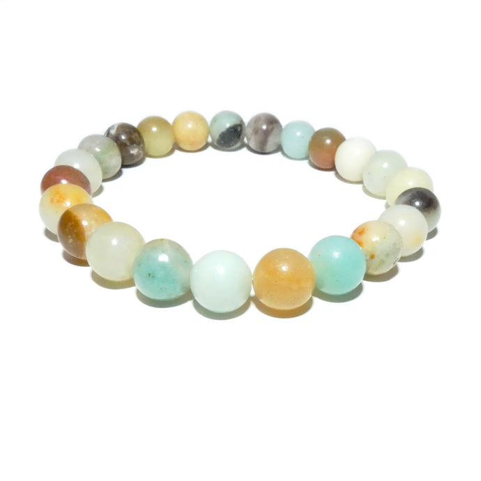 Australian Amazonite Clarity Peace 8mm Stretch Bracelet