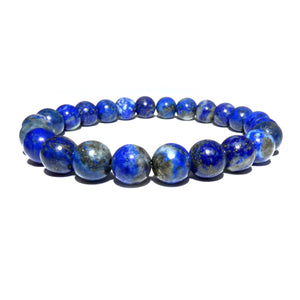 Limited Chilean Lapis Lazuli Enlightenment 8mm Stretch Bracelet