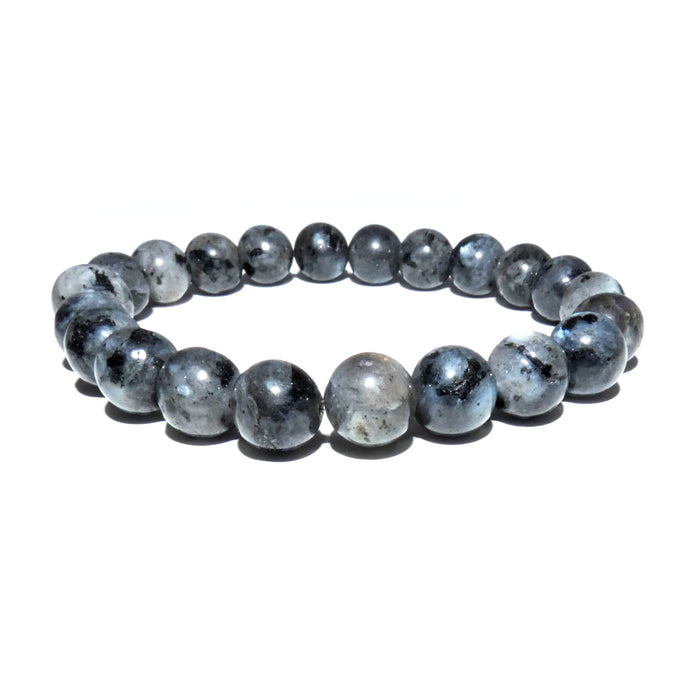 Labradorite Power Protector Shaman Stone 8mm Stretch Bracelet