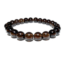 Load image into Gallery viewer, Smoky Quartz Limited Ethereal Vitality 8mm Stretch Bracelet