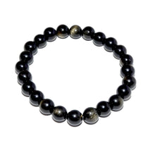 Load image into Gallery viewer, Limited Gold Sheen Obsidian Wizard Stone Energetic Shield 8mm Stretch Bracelet